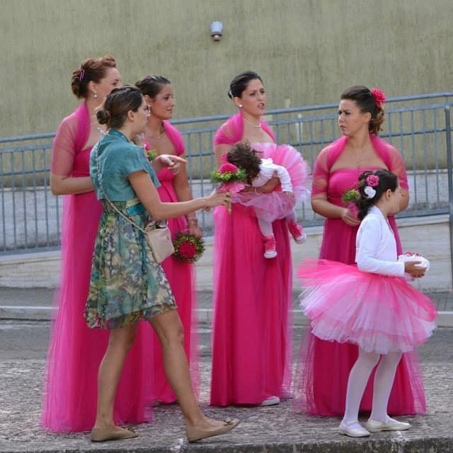 coordinamento matrimonio aiuto organizzazione tema fucsia rosa pink
