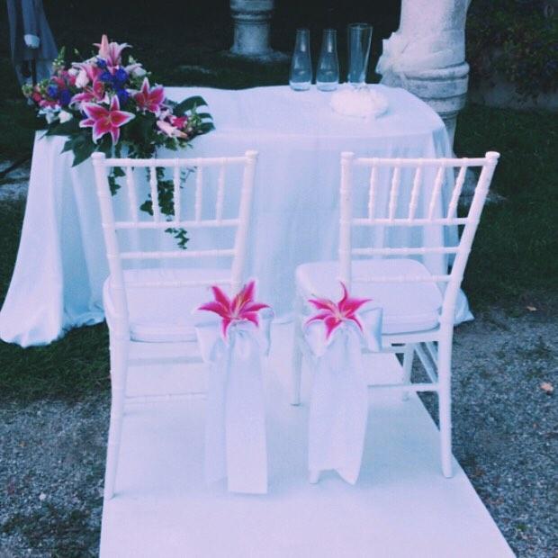 matrimonio all'americana rito della sabbia passerella bianca claudia girola