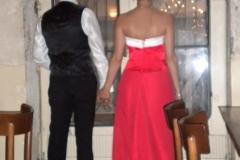 abito da sposa rosso aiuto matrimonio coordinamento