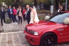 arrivo della sposa wedding planner aiuto matrimonio e controllo