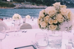 matrimonio al mare allestimenti bianchi tema amore