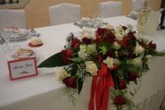 matrimonio tema peperoncino composizioni centrotavola rosso