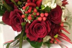 tema peperoncino allestimento bouquet rosso matrimonio colorato di pink aiuto