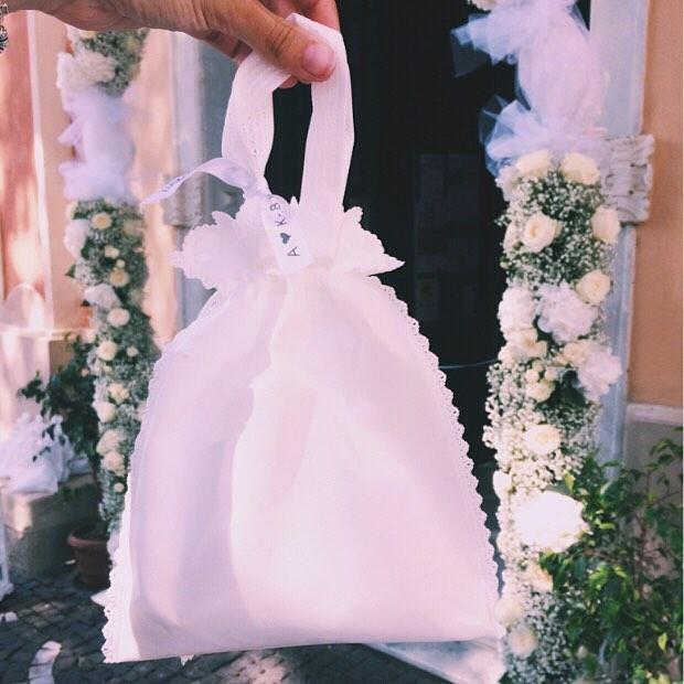 wedding bag matrimonio colorato di pink coordinamento e aiuto matrimonio