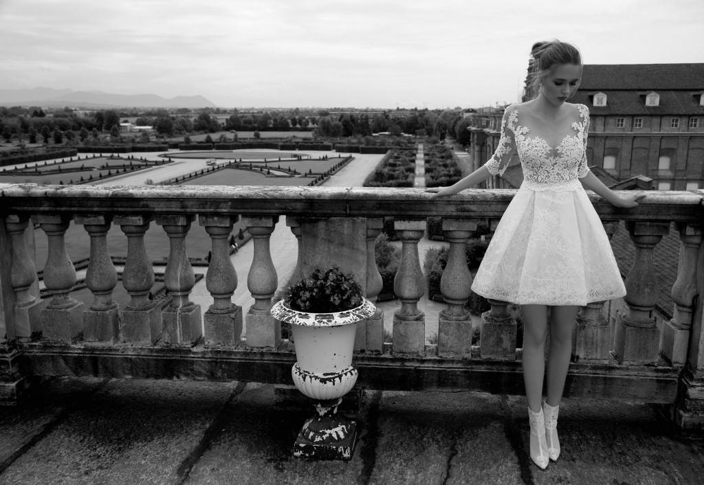 abito da sposa corto alessandra rinaudo nicole spose