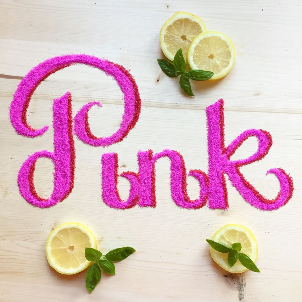 Pink_Food Typography