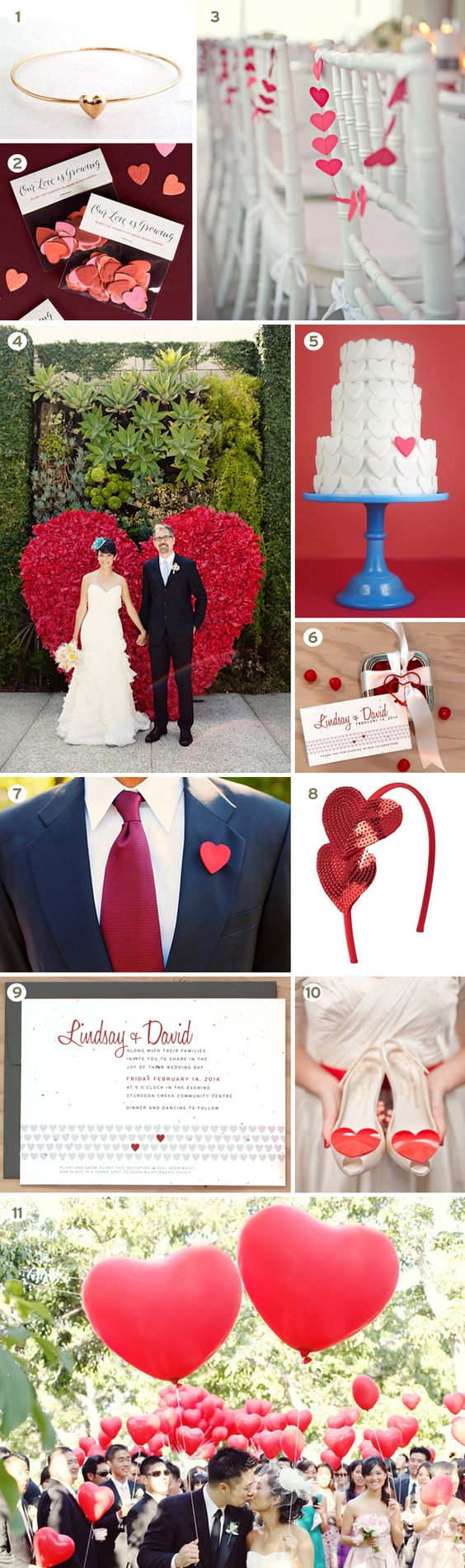 Matrimonio a tema cuori – Inspiration Weekend