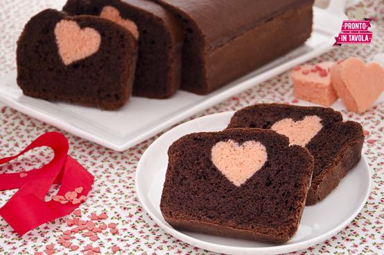 idee romantiche plumcake con sorpresa