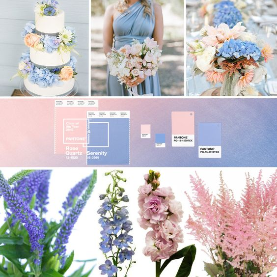 wedding palette pantone 2016