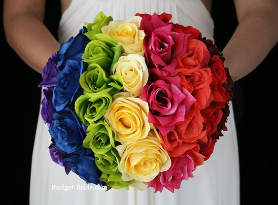 Matrimonio Tema Rose : Matrimonio a tema arcobaleno inspiration weekend