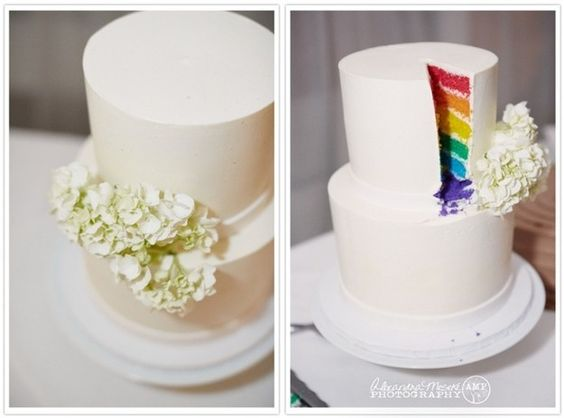 matrimonio a tema arcobaleno wedding rainbow