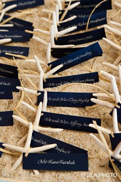 place card alternative al tableau tema mare