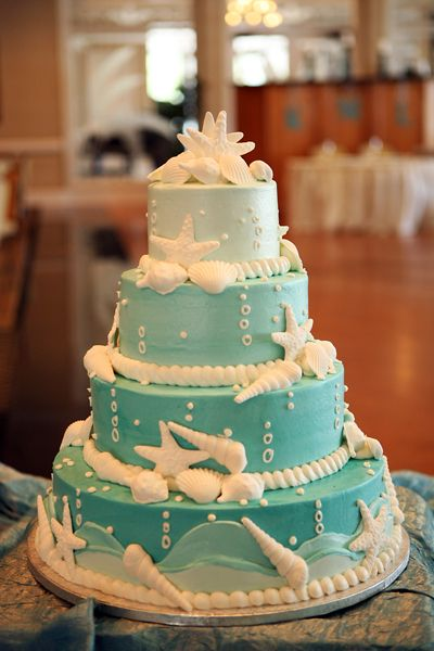 matrimonio a tema mare wedding cake torta nuziale