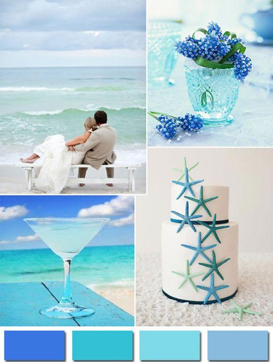 Molto Matrimonio a tema mare - Inspiration Weekend - Colorato di Pink QI03