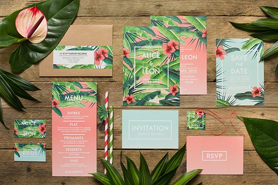 Matrimonio Tema Tropical : Matrimonio a tema tropicale hawaii colorato di pink