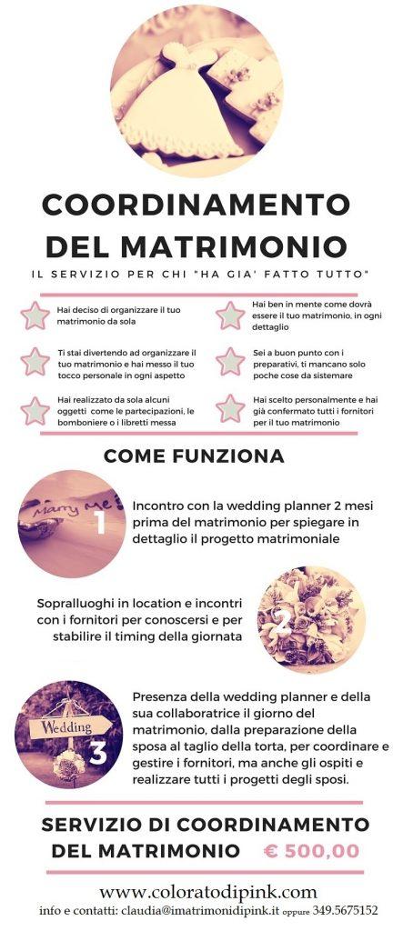 coordinamento del matrimonio wedding planner milano