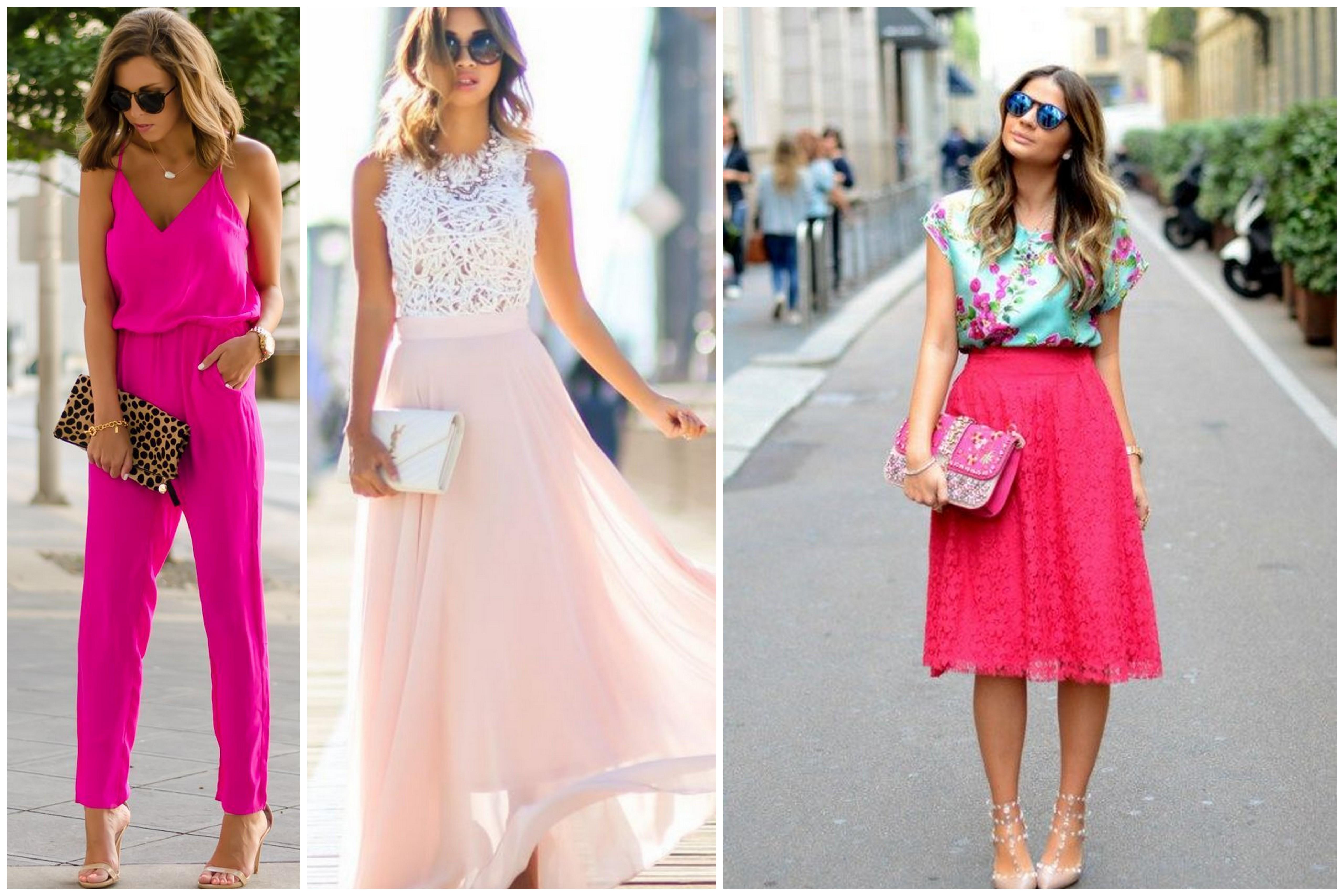 Al Matrimonio In Jeans : Invitata al matrimonio cosa indosserai colorato di pink