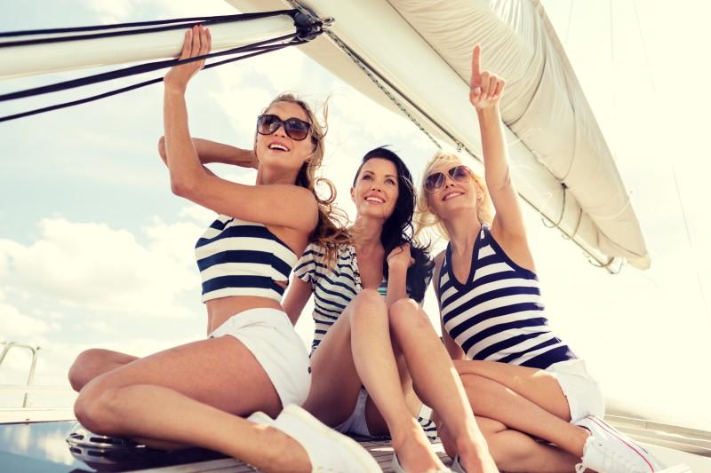 addio al nubilato in barca a vela