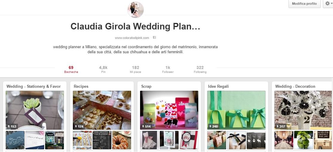 claudia girola wedding planner milano pinterest