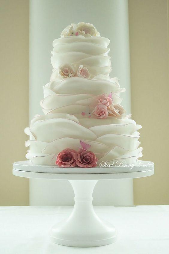 torta nuziale a piani wedding cake