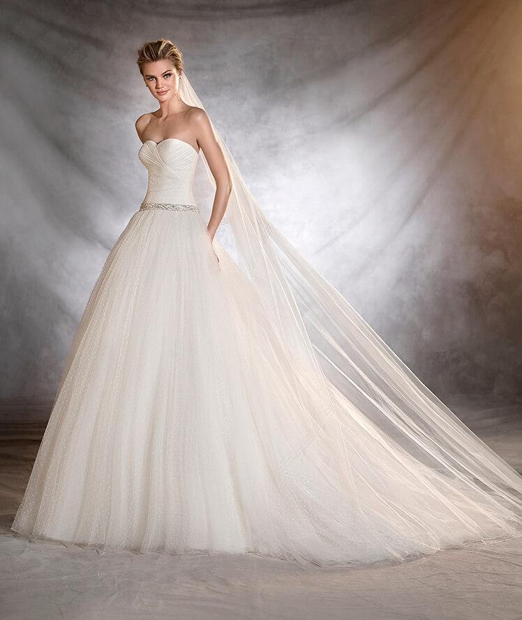 abito da sposa pronovias 2017 ovalia