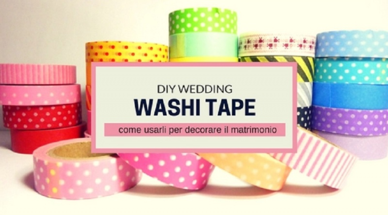 washi tape matrimonio