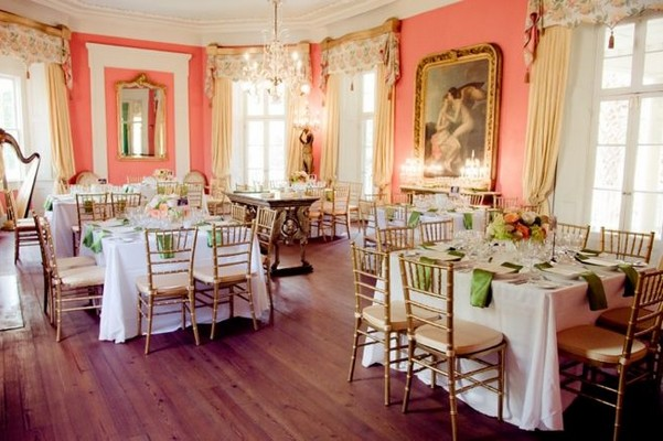 tavoli quadrati al matrimonio
