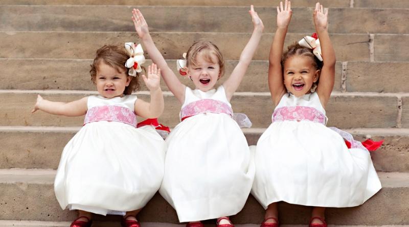 bambini al matrimonio