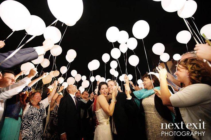 palloncini luminosi per matrimonio