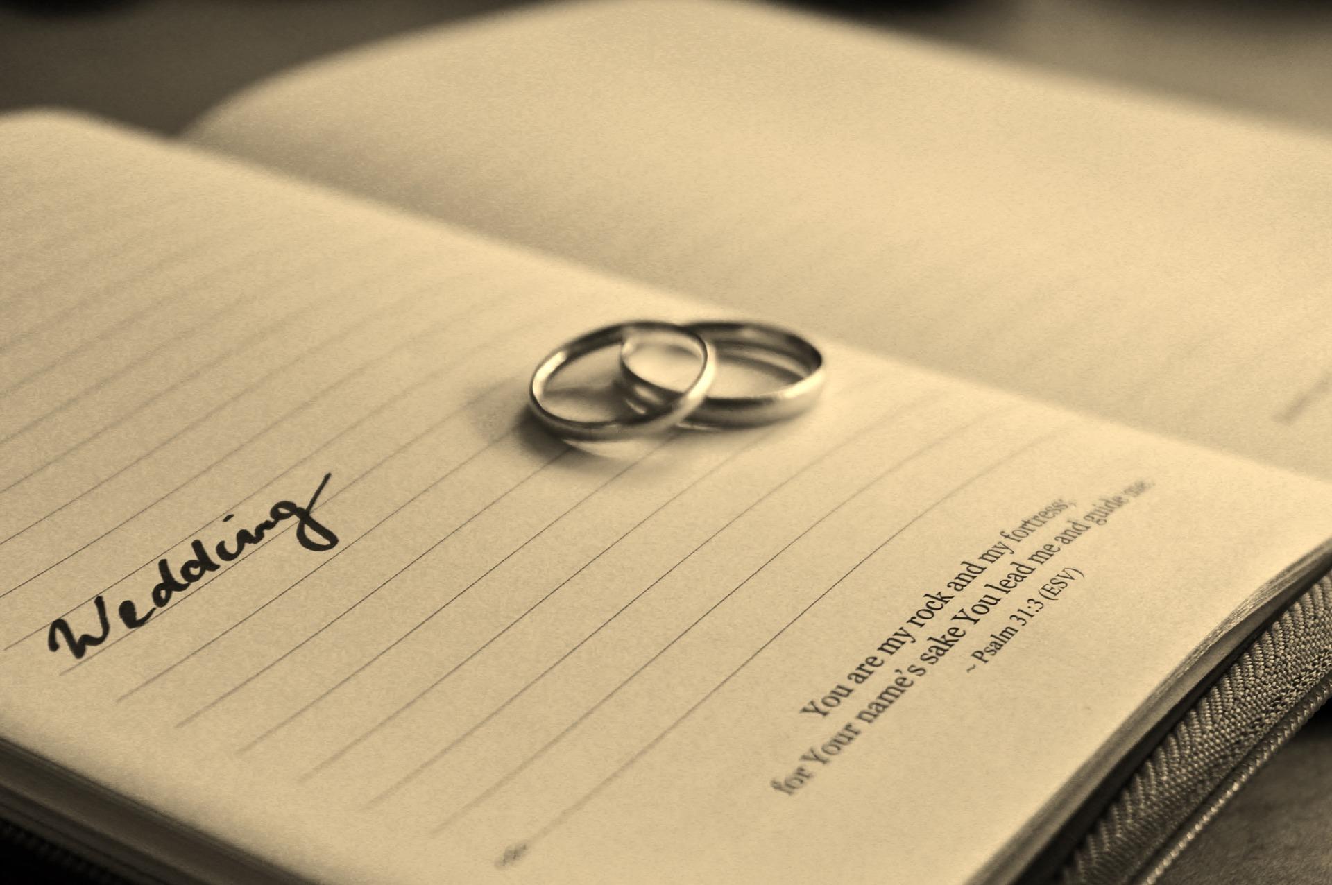 data del matrimonio
