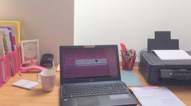 Il nuovo ufficio di Colorato di Pink