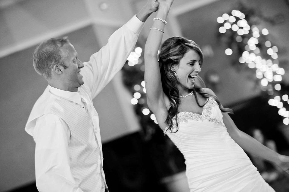 Pioggia durante il matrimonio? nessun problema