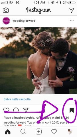 organizzare matrimonio con instagram
