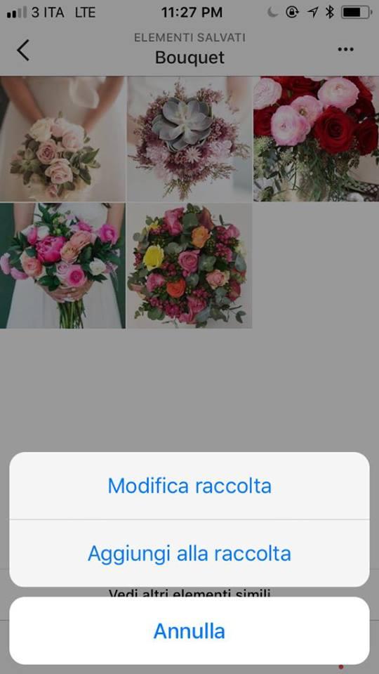 creare board su instagram