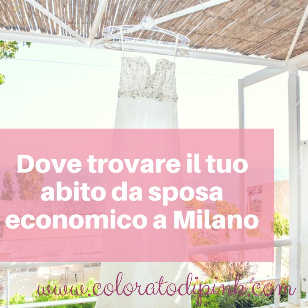 Dove Trovare Il Tuo Abito Da Sposa Economico A Milano Colorato Di Pink