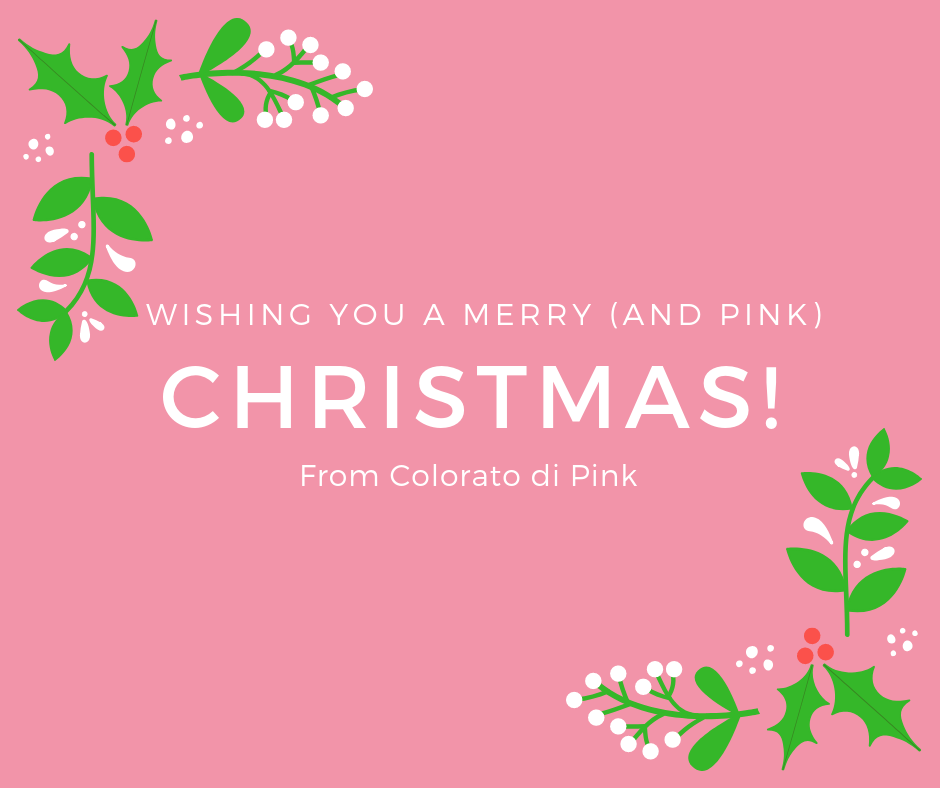 merry and pink christmas