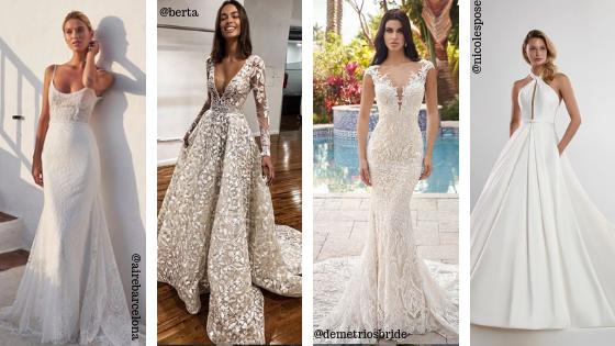 Abito Da Sposa 4 Mesi Prima.Abiti Da Sposa 2020 Instagram Colorato Di Pink