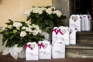 wedding bag burgundy