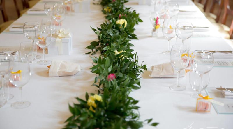 Come organizzare il tavolo imperiale il giorno del tuo matrimonio