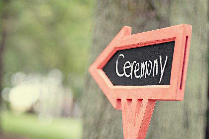 cerimonie per matrimonio