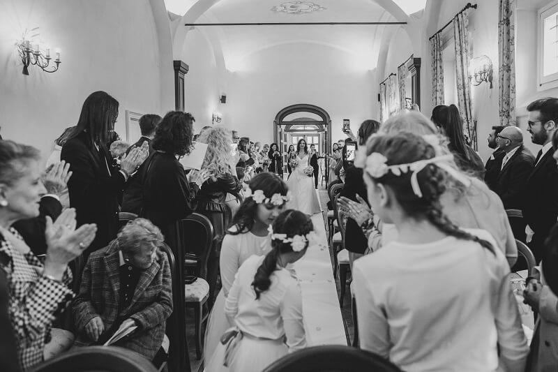 ingresso sposa cerimonia civile