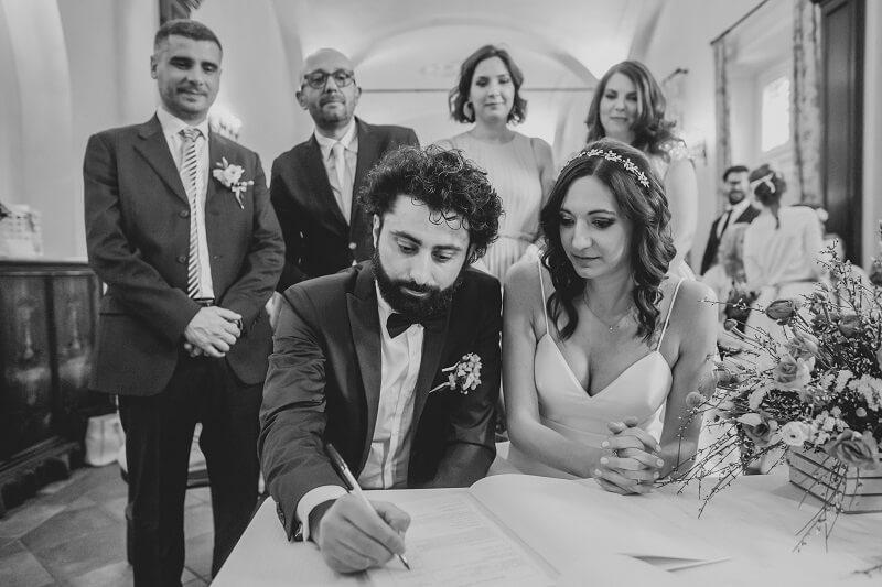 firme matrimonio