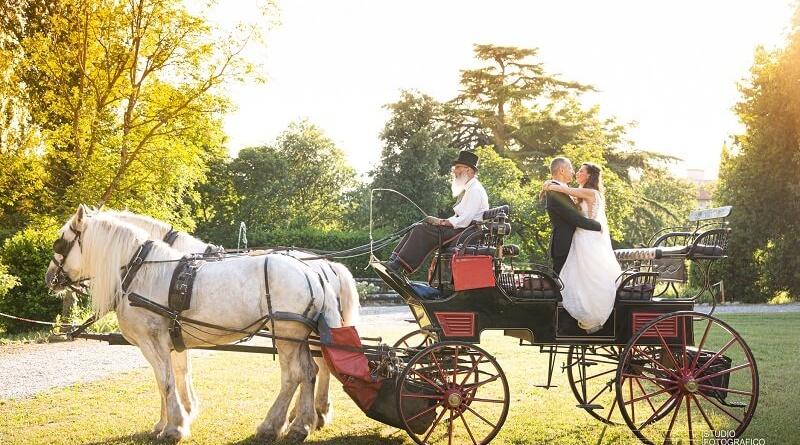 come arrivare in chiesa al matrimonio carrozza