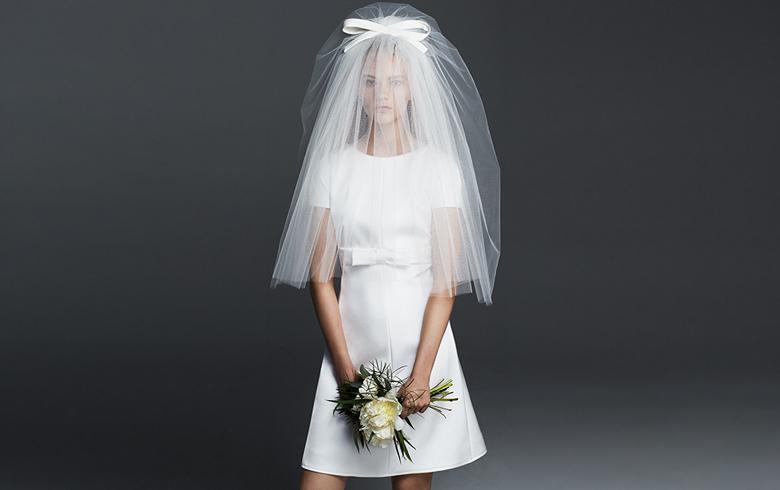 abito da sposa corto max mara 2016