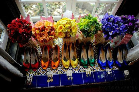 Matrimonio a tema arcobaleno – Inspiration Weekend