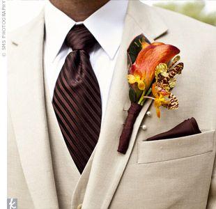 abito da sposo matrimonio cioccolato