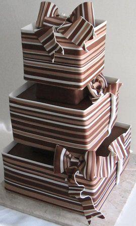 wedding cake a tema cioccolato