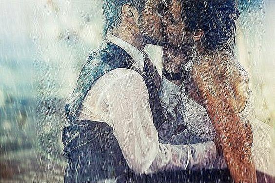 trash the dress sotto la pioggia