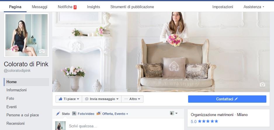 colorato di pink facebook
