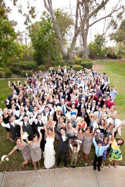 foto di gruppo matrimonio